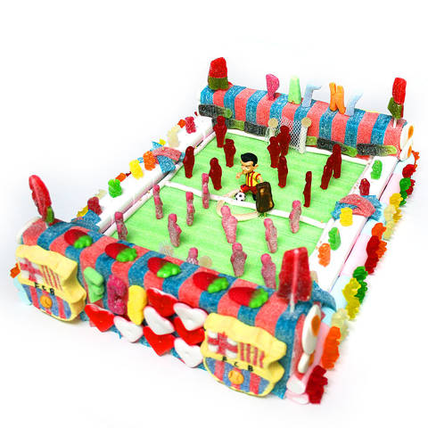 Pastel de chuches - Camp Nou