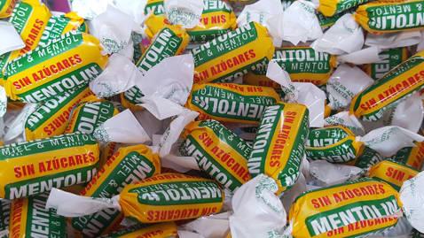 Mentolin miel mentol sin azúcar 100gr