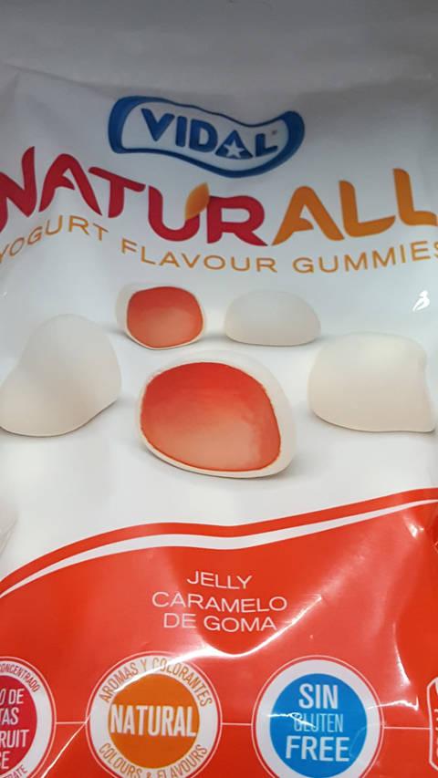 Naturall yogurt flavour gummies