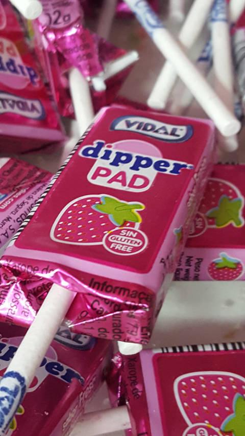 Dipper pad fresa