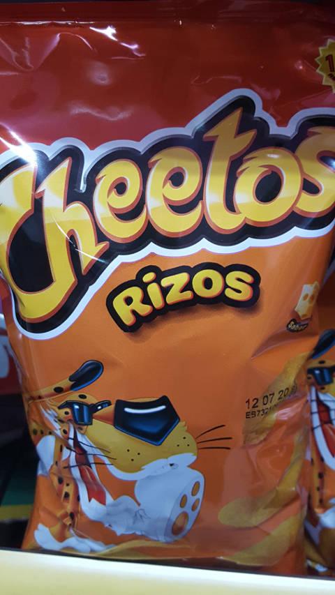 Cheetos rizos