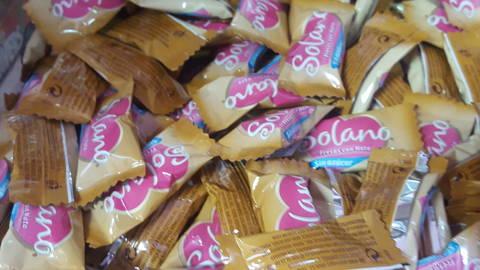 Caramelo Solano fresa sin azúcar 100gr