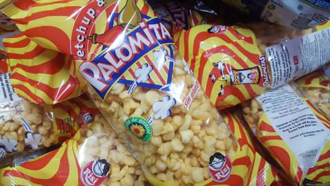 Palomitas ketchup mostaza Risi
