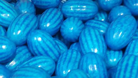 Meló blau