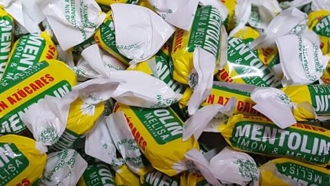 Mentolin limón melisa sin azúcar 100gr