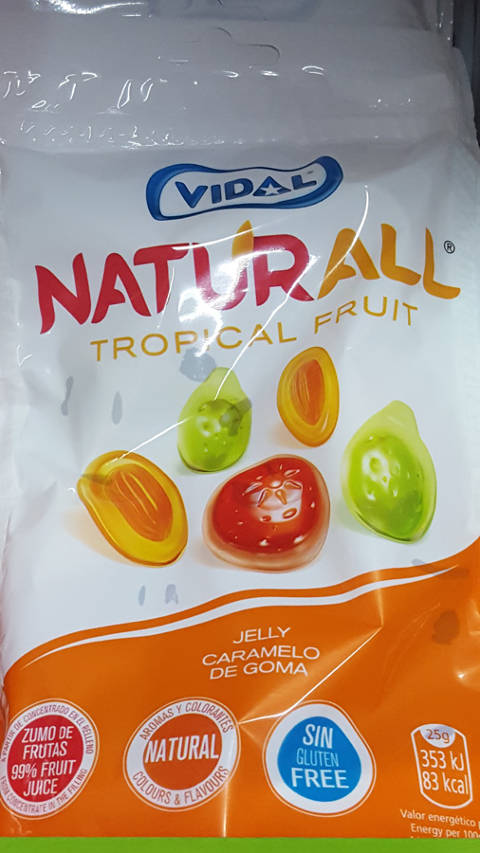 Naturall Tropical fruits