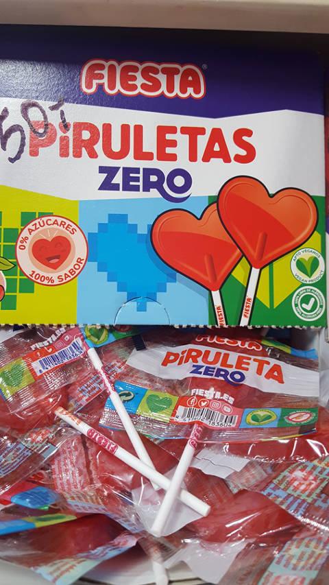 Piruleta Fiesta zero