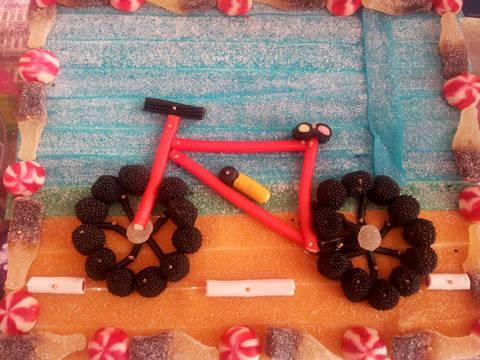 Bicicleta de llaminadures personalitzada