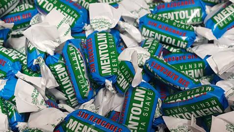 Mentolin menta suave sin azúcar 100gr